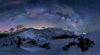 Milky Way over Loveland Pass