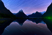 Star Trails in Milford Sound