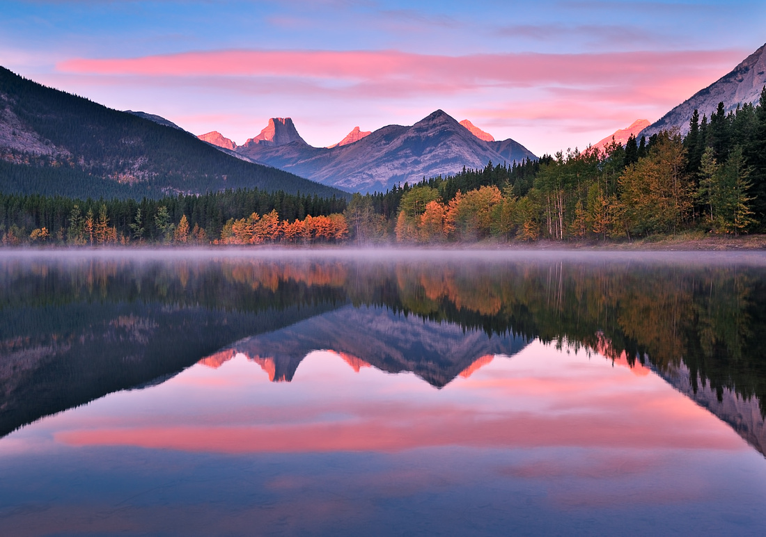 Autumn Morning at Wedge Pond