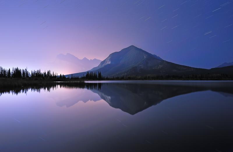 A Night at Vermilon Lake