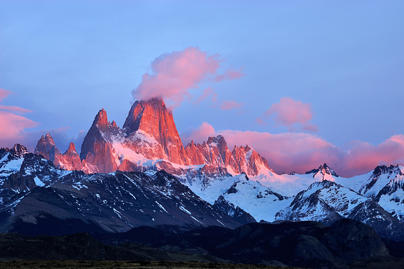 Fitz Roy is Smoking