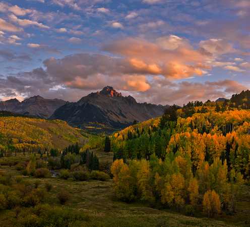 Mt Sneffels at Autumn
